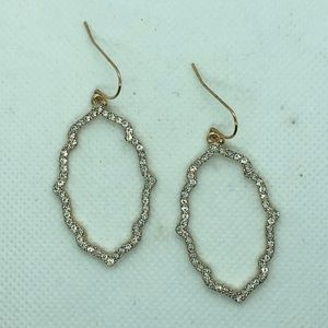 Jewelry - Pave Crystal Earrings